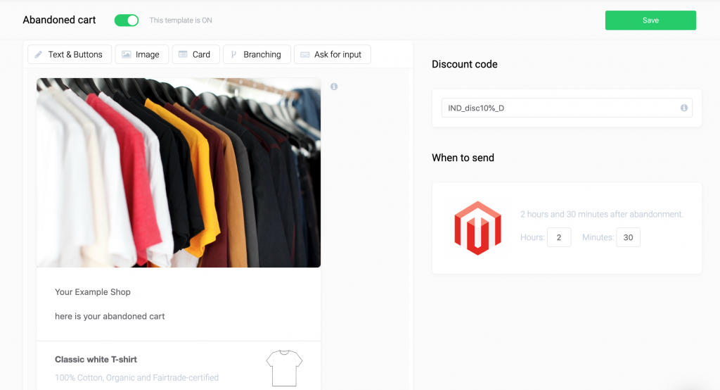 fanbot magento integration