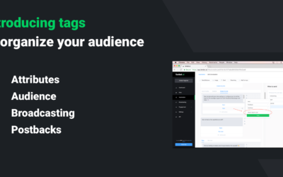 Introducing tags, a flexible way to organize your fans